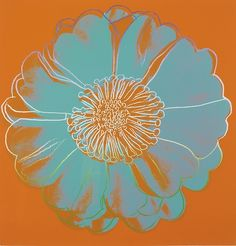 Andy Warhol / Flower for Tacoma Dome / c. 1982 / color silkscreen