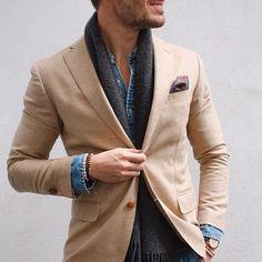 MenStyle1- Men's Style Blog - Men's Scarf Inspiration. Elevator Shoes | Follow...