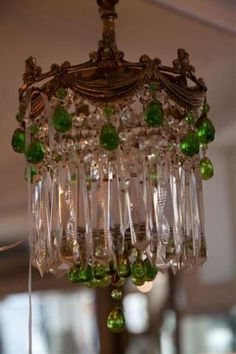 LOVE this chandalier