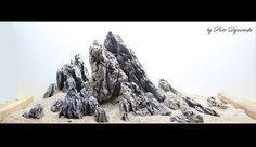 Hardscape: Seiryu RocksDramatic Iwagumi Layout by polnish Superscaper Piotr Dymowski. So cool!