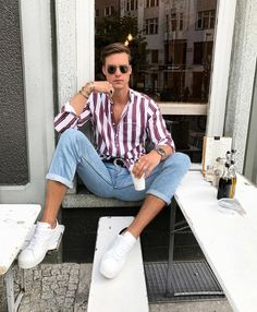 mens fashion ideas which looks trendy ! Style Outfits, Casual Outfits, Men Casual, Fashion Outfits, Fashion Tips, Fashion Ideas, Fashion Trends, Mode Man, Moda Chic