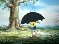 Winnie The Pooh The Little Black Rain Cloud