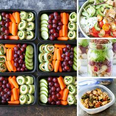 Loving these healthy meal prep lunch ideas!