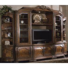 Stanley Furniture Entertainment Wall Unit On Craigslist