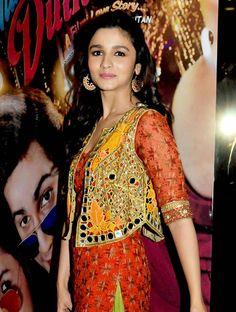 Alia Bhatt at trailer launch of Humpty Sharma ki Dulhaniya.