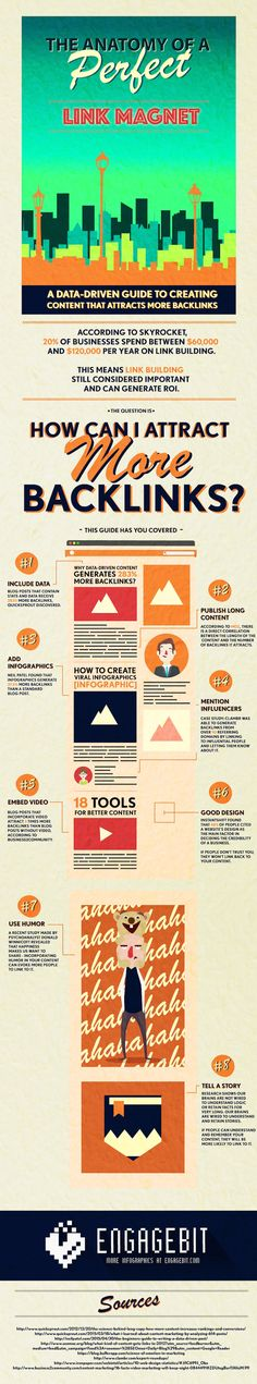 Want to Attract Links to Your Website? Try These 8 Data-Driven Tips - #Infographic