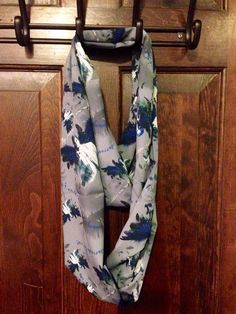 Supernatural Castiel Feathers Infinity Scarf With by TraceyGurney