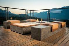 mobilier ,,beton'' din beton
