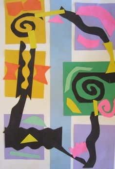 "Matisse and the ""eye path"" // great idea! love teaching the kiddos ways to talk nicely about others' work."