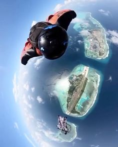 Dubai Video, Diving Videos, Places To Travel, Places To Visit, Moving Clouds, Camping Photography, Above The Clouds, Paragliding, Skydiving
