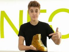 Justin's new line of shoes!!