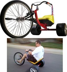 Adult-Sized Big-Wheel | 30 Things You Need To Buy After You Win The Lottery