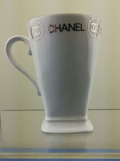 Vintage Original Fine Bone China Chanel Mug Made In England.