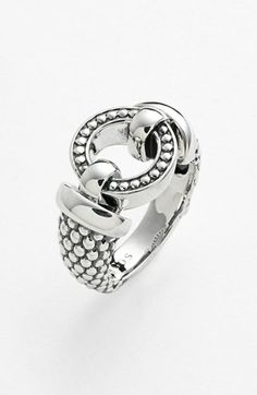 Lagos 'Enso' Caviar™ Ring available at #Nordstrom- my latest obsession