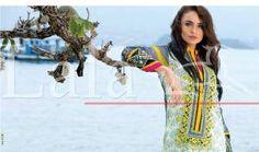 Latest Summer Dresses Lala Textiles Vintage 2015 (14)