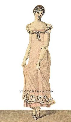 1811 Evening Gown.
