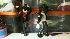 Megrendelésre készültek a Michael Jackson babák