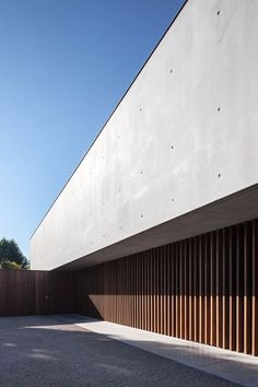 Residence PSW | Govaert & Vanhoutte Architects #concrete