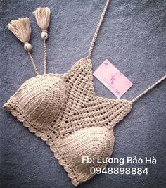 Crochet Bra, Crochet Shirt, Crochet Crop Top, Crochet Cross, Love Crochet, Beautiful Crochet, Crochet Clothes, Crochet Woman, Crochet Dresses