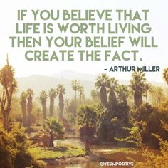 Inspirational quote by Arthur Miller about life