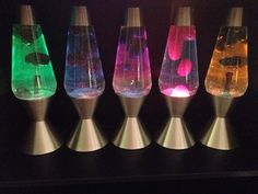 Five Premier lava lamps. Lava Lamps, Table Lamp, Houses, Lighting, Random, Home Decor, Homes, Table Lamps, Decoration Home