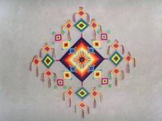 178 Mejores Imágenes De Ojo De Dios Huichol Gods Eye Weave Y