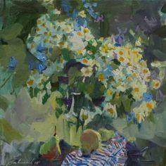 "Saatchi Art Artist Ksenia Logvinenko; Painting, ""Sweet coolness"" #art"