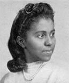 Marie Maynard Daly, Queens, New York, first black woman to earn a Ph.D. in Chemistry,  looks like young Michelle Obama photo