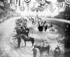 The Fort Worth Stock Show in 1908