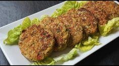 Hamburguesas de berenjena (riquísimas y SIN GRASA). Hamburguesa de berenjena muy LIGHT. Una manera deliciosa de comer verduras. Te doy dos ideas de presentac...