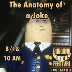 How is a joke built? With some #FunnyBusiness obviously. More information on the class at BurbankComedyFestival.com