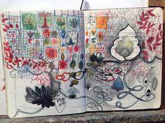 Jane Fasse / sketchbook drawing