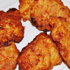 Warm crispy and packed with flavor it is the best banana fritters I had yet Jamaican Saltfish Fritters Recipe, Jamaican Banana Fritters, Carribean Food, Caribbean Recipes, Stew Chicken Recipe, Chicken Recipes, Jamaican Brown Stew Chicken, Jamacian Food, Small Tomatoes