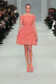 ELIE SAAB Haute Couture Spring Summer 2012 !!!! Coral exquisite
