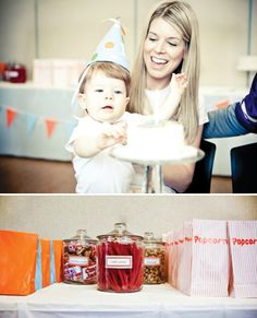 Sports Theme: #1 Foam Hand First Birthday Party // Hostess with the Mostess®