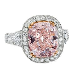 Fancy #Pink Diamond ring..the exact ring my husband gave me for my promise ring!!!