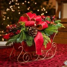 Christmas Centerpieces for the Holidays | Lynch Creek Wreaths