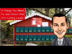 4 Things Needed To Use Direct Mail For Listing Leads - Real Estate Marketing Dude Real Estate Business, Real Estate Tips, Real Estate Companies, Real Estate Investing, Real Estate Marketing, Mail Marketing, Marketing Ideas, Looking For Houses, Direct Mail