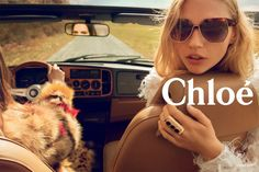 First look: advertising campaign Chloé, Fall-Winter 2014 Summer never ends