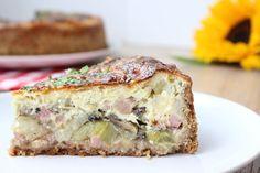 Zonder pakjes en zakjes smaakt een zelfgemaakte hartige taart met prei, spekjes, ei en kaas nog lekkerder!