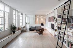 巴黎 25 坪黑白簡約公寓 - DECOmyplace