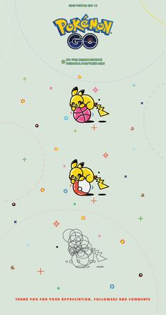Free vector illustration Pikachu from Pokemon GO on Behance
