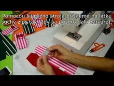 Kurz šitia - Ako si ušiť puzdro na mobil - YouTube