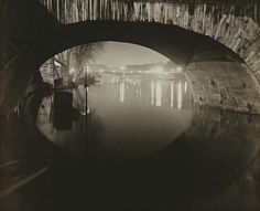 Brassaï's Le Pont du Carrousel, Paris, 1932 Vintage Photography, Fine Art Photography, Amazing Photography, Street Photography, Landscape Photography, Photography Ideas, Carrousel, Pont Royal, Pont Paris