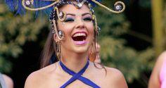 Sabrina Candreva, Campeã do Belas da Torcida do UOL é destaque no carnaval de rua do interior de SP.   Revista Styllus