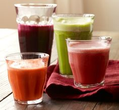 Beneficios de la Jugoterapia o Juicing