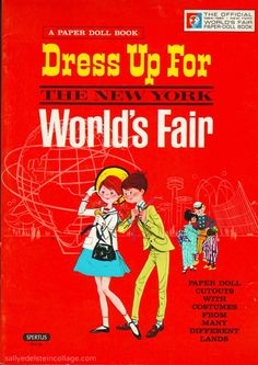 We stopped at the fair for a couple of days, it was so modern and futuristic.