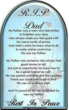 Love & Miss You Dad.