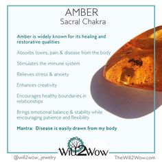 Crystal Healing with the tree resin amber