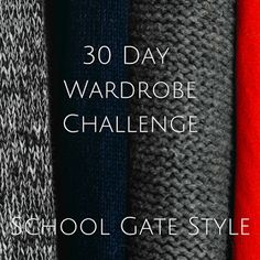 30 Day Wardrobe Challenge - Days 1 & 2   So as I was dithering about this blogging malarky I got a great comment from Becs on my last post suggesting I try the 30 x 30 challenge. It fits really well with paring back my wardrobe and perfecting a capsule so I read into it a little more and decided this morning to give it a go. The idea is that you pick 30 items from your wardrobe which you mix and match during the month creating a new outfit every day. Most bloggers I've seen do the challenge…
